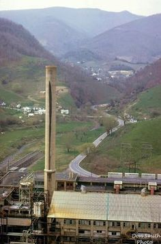 OLIN CHLORINE PLANT / ALLISON GAP / RED ROCK / SALTVILLE, VA. / APRIL 1969. Courtesy of Don Smith