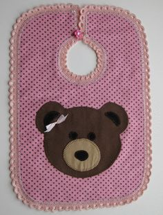 Free Applique Pattern - Lazy Bear