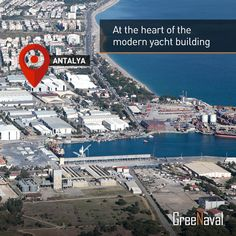 Our shipyard is located in #Antalya Free Zone, the heart of Turkey at modern #yacht building. In our area of 4000 square meters, up to 70 meters of building and repairmen can be handled.