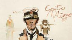 Record du monde pour cette aquarelle signée Hugo Pratt, Corto Maltese, les Éthiopiques, vendue 391.800€.