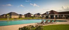 Summer Lakes Rosenberg TX: Massive Pool.  Developers include: Highland Homes, Plantation Homes, and  GreenEco Builders starting from 130k and up.