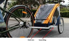 Chariot Carriers Recalls Child Bicycle Trailers and Conversion Kits Due to Injury Hazard