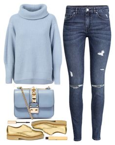 """""""fall"""" by ecem1 ❤ liked on Polyvore featuring Maison Ullens, H&M, Valentino, YMC and Stila"""