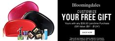Bloomingdale's: Lancome free gift in October 2017. http://cliniquebonus.org/lancome-gift-with-purchase/