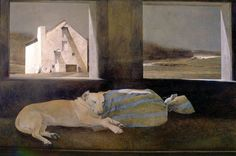 Andrew Wyeth (1917-2009) Night Sleeper, 1979