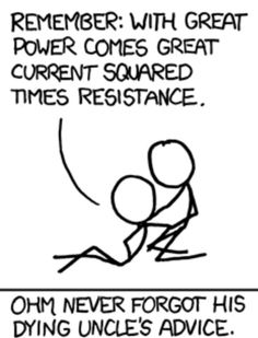 Ohm's law Physics Jokes, Funny Science Jokes, Nerd Jokes, Math Jokes, Science Memes, Nerd Humor, Science Cartoons, Dog Jokes, Stephen Hawking