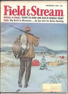 12 1957 Field Stream Magazine | eBay