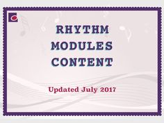 Rhythm module contents Music Theory, Music Lessons, Teaching Resources, Detail, Contents, Teaching Music, Music Education, Music Education Lessons, Learning Resources