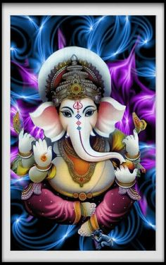 Lord Ganesha is one of the most popular Hindu deity. Here are top Lord Ganesha images, photos, HD wallpapers for your desktop and mobile devices. Shri Ganesh Images, Ganesha Pictures, Ganesha Drawing, Lord Ganesha Paintings, Ganesha Tattoo Lotus, Lotus Tattoo, Tattoo Ink, Arte Ganesha, Happy Ganesh Chaturthi Images