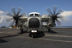 INDIAN OCEAN (Oct. 18, 2015) A C-2A Greyhound assigned to the Rawhides of Fleet Logistics Support Squadron (VRC) 40 taxis the flight deck of the aircraft carrier USS Theodore Roosevelt (CVN 71) during Exercise Malabar 2015. Malabar is a continuing series of complex, high-end war fighting exercises conducted to advance multi-national maritime relationships and mutual security.