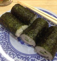 MORANDO NO JAPÃO: ベジタリアンは回転寿司で何を食べるの? O que vegetarianos comem em kaiten-sushi?