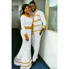 ankara designs for couples African Wedding Attire, African Attire, African Wear, African Women, African Dress, African Weddings, African Style, African Inspired Fashion, African Print Fashion