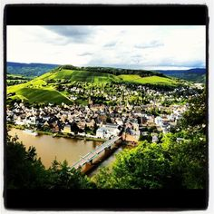Traben-Trarbach on the Mosel river in Germany