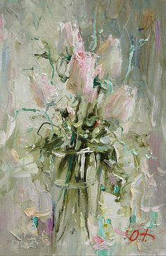 Trofimov, Oleg: roses. sketch