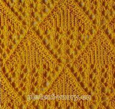 vzor 18 Knit Patterns, Stitch Patterns, Knitting Stitches, Blanket, Crochet, Blog, Knits, Dots, Chopsticks