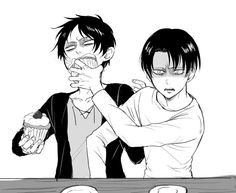 Eren and Levi // AoT