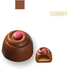 Chocolates Praline Chocolate, Homemade Chocolate Bars, Chocolate Work, Chocolate Candy Recipes, Chocolate Covered Almonds, Artisan Chocolate, Chocolate Sweets, Chocolate Filling, Chocolate Truffles