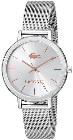 Lacoste Women's 2000884 Nice Stainless Steel Watch with Mesh Bracelet >>> You can get additional details at the image link.