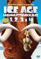 Ice Age 1-4 boksi (DVD)