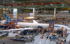 Final assembly begins on first Boeing 787-9 Dreamliner