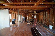 stripped back internal spaces before building begins