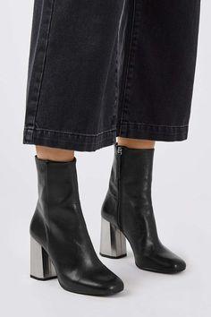 HARMONY Facet Heel Boots £89.00