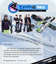 Descubre la página web donde encontrar las últimas novedades para destacar en las pistas de ski!!