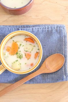 新生活に役立つ朝ごはんの時短テク5選   レシピサイト「Nadia ... みそ汁リメイクリームスープ