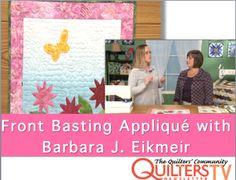 Front Basting Appliqué with Barbara J. Eikmeier