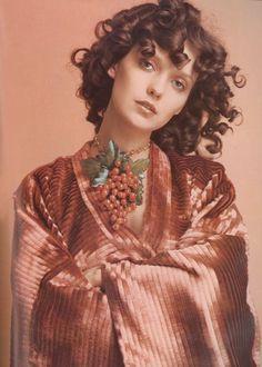 Donna Mitchell by Chris von Wangenheim Vogue Italia, September 1970