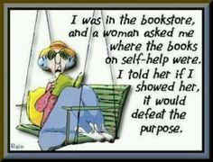 Book humor - @Michelle Flynn Flynn Murray - LOL!