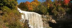 Fall is the best time to view our fabulous waterfalls in Hamilton, Ontario. Here is a list of some of the top spots to take in the glory of rushing water, changing fall leaves and the crisp air!