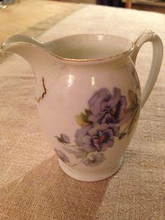 Fløtemugge Czechoslovakia MZ Porcelain