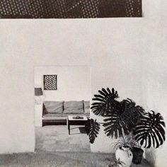 Restored farmhouse of artist/designer Dan Rasmussen - Benisa, Spain 1968 blueberry modern Beige Outfit, Architectural Digest, Living Room Modern, Living Spaces, Interior Architecture, Interior And Exterior, Restored Farmhouse, Interior Styling, Interior Design