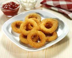 Cibulové kroužky v těstíčku Recept - Tefal
