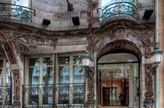 Art Nouveau - Hôtel Céramic - Avenue de Wagram - Paris - Architecte Jules Lavirotte - Céramiste - Alexandre Bigot - 1904