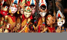 Traditional wayang Golek (Wooden Puppet) from West java, Indonesia