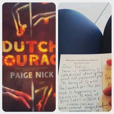 Tebogo Mabaso  #YouveGotMail  thank you Paige. PS this is my first postcard ever  #DutchCourage #PaigeNick — with Paige Nick.