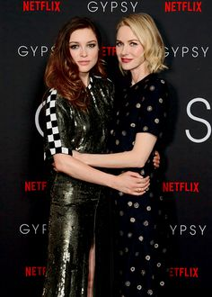 Sophie Cookson and Naomi Watts attend special London screening of Netflix Original series Gypsy (03.07.2017).