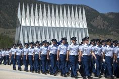 The US Air Force Academy is located in Colorado Springs, Colorado. The Academy is a prestigious institution that trains candidates to become officers in the United States Air Force.