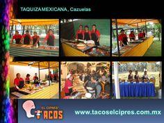 La Taquiza Mexicana  de Cazuelas a Su Fiestas contamos con 60 variedades de  Guisos a Escoger  con tres cazuelas complementarias ARROZ, FROJOLES REFRITOS Y ENSALDAD DE NOPALES . ¡ QUE SABROSO!