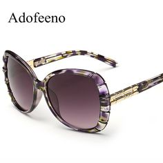 Adofeeno New  Sunglasses Women Oculos De Sol Feminino Eyewear Fashion UV Protection Vintage Sun Glasses