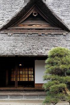 ☆ Old Japanese traditional house, Kominka 古民家 Japanese Style House, Traditional Japanese House, Japanese Homes, Japanese Bath, Asian Architecture, Vernacular Architecture, Japanese Interior, Japanese Design, Japan Image