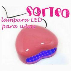 #Lampara led #Corazon mini 3W para las Uñas de gel ^_^ http://www.pintalabios.info/es/sorteos_de_moda/view/es/3146 #ESP #Sorteo #Unas