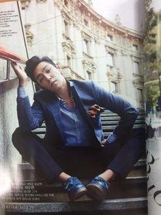 T.O.P. for Vogue Korea