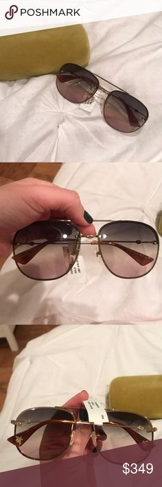 NWT Gucci sunglasses Authentic new with tags and case! No trades! New this season Gucci Accessories Sunglasses