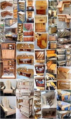 Interesting Ideas of Old Wood Pallet Recycling: There are so many people around us who do want to bring out the flavors of the wood pallet use in their house locations but at the. Wood Pallet Tables, Diy Pallet Sofa, Pallet Art, Diy Pallet Projects, Woodworking Projects, Pallet Ideas, Pallet Furniture, Woodworking Plans, Old Pallets