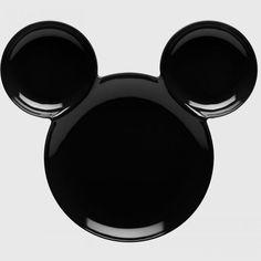 Mickey Mouse ear plate // Zak! Designs // via Studioaimee.com