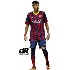 Neymar 3 photo: Neymar FC Barcelona Brazil This photo was uploaded by... ❤ liked on Polyvore
