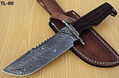 DAMASCUS CUSTOM HAND MADE BEAUTIFUL HUNTING KNIFE G10 MICARTA HANDLE. #BestSteelWarrior